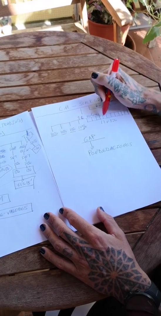 Captura del vídeo donde da sus explicaciones