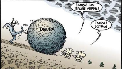 los riesgos de la elevada deuda externa en espana