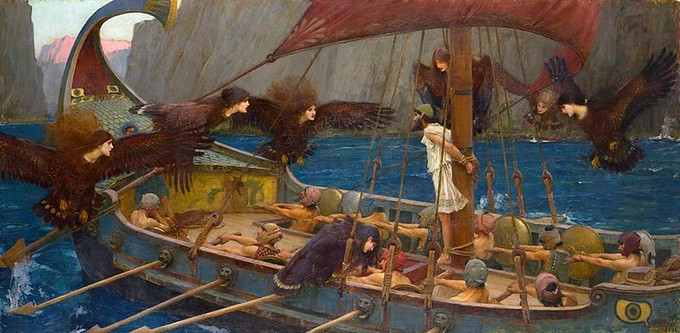 Ulises y las Sirenas - John William Waterhouse