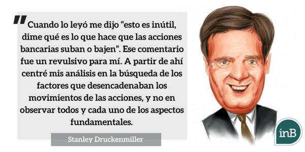 Stanley Druckenmiller, ganando 30% al año durante 30 años. Global Macro
